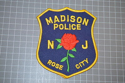 Madison New Jersey Police Department Patch (T3)