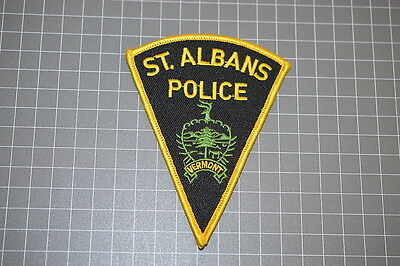 St. Albans Vermont Police Department Patch (T3)