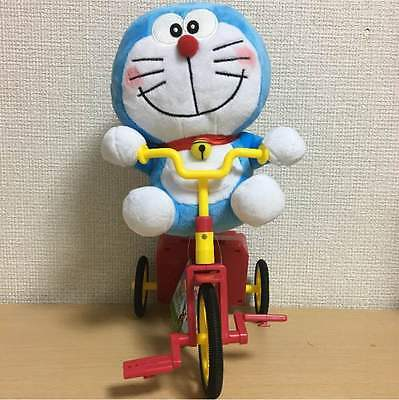 Taito Doraemon excited tricycle stuffed toy 30cm anime prize item