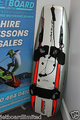 JetSurf. Jet powered motorised surfboard. Factory GP100. £7,400 available today.