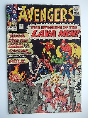 Avengers 5 (1964) Complete copy -  £75.00 Free uk delivery