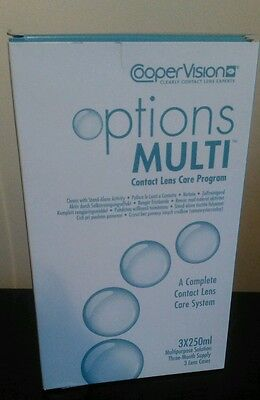 CooperVision Options Multi Contact Lens Solution