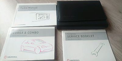 Corsa C  Combo Genuine Leather Wallet and Book Pack Audio Owners Manual service