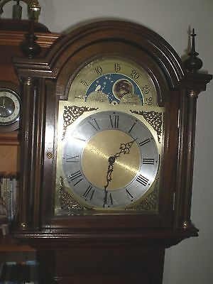 A Mahogany Fenclock of Suffolk triple chime Grandfather clock. (working)