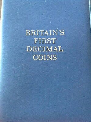 Britains first decimal coin set. Free uk P&P