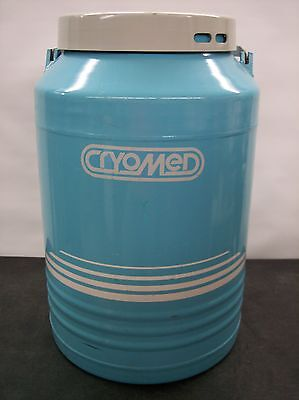 Cryomed Double Walled Vacuum Vessel / Tank For Use With Liquid Nitrogen Fubk12