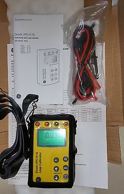 New Druck UPS III IS Intrinsically Safe Loop Calibrator / Multimeter