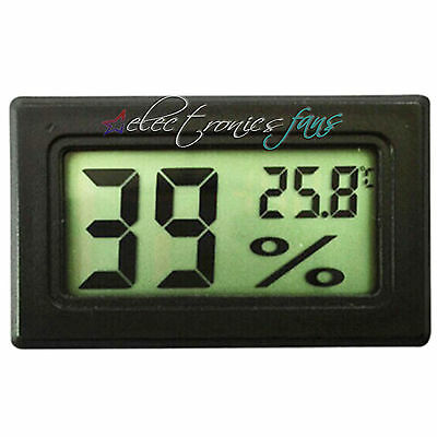 Digital LCD Indoor Temperatur Feuchtigkeit Meter Thermometer Hygrometer