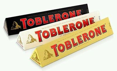 Toblerone pack set  lot de 3  400 g par barre.