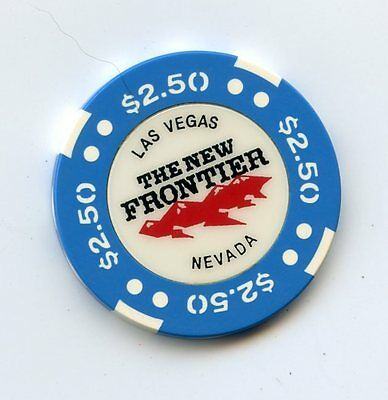 2.50 Chip from the New Frontier Casino in Las Vegas Nevada