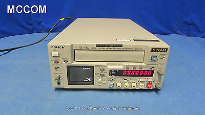 Sony DSR-25 DVCAM Recorder w/ 1080 tape hrs