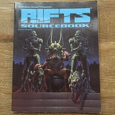RIFTS SOURCEBOOK 1992 Roleplaying Game Softcover Palladium Books VG