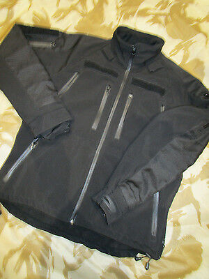 MILTEC army Softshell JACKET security BLACK combat SECURITY army LARGE VGC