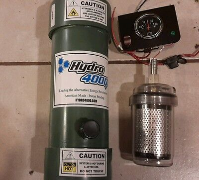 Hydro4000 Hydrogen fuel generator cell H2 HHO