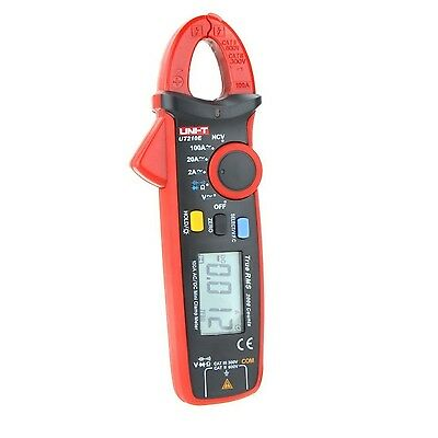 Handheld RMS AC DC Mini Digital Clamp Meter Resistance Check Capacitance Monitor