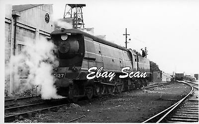 Railway Photograph  SR West Country Class Steam Loco № 21C127 34027 Taw Valley