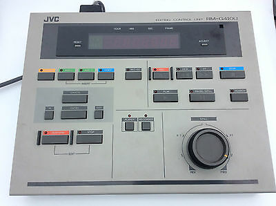 JVC RM-G410U Video Editing Controller Unit for BR-S811U & a BR-S411U