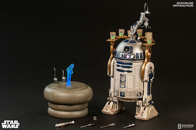 Sideshow Star Wars R2-D2 Deluxe Exclusive Sixth1:6 scale figure New & Sealed
