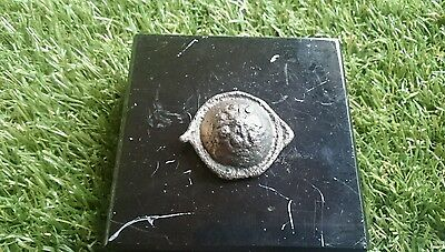 Roman heavy Bronze intricate mount/brooch found near York partly cleaned nice