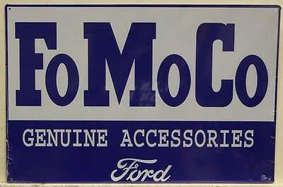 FoMoCo Ford Genuine accessories Metal Sign vintage style ford parts   m-643
