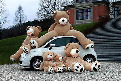 "Giant Teddy Bear BRAND 260cm/102"" 200cm Big Extra Large Plush Toy Bear Best Gift"