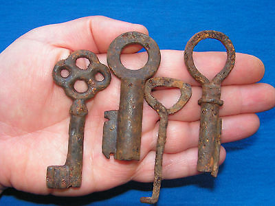 Unique Antique Viking Keys Kievan Rus 8-10 AD