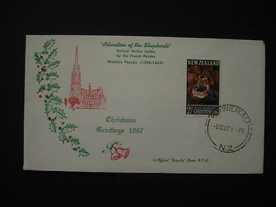 New Zealand : 1967 Christmas : Pictorial FDC
