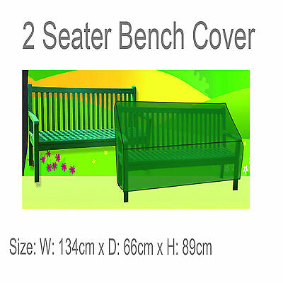For 2 SEATER GARDEN BENCH COVER WATERPROOF FURNITURE SEAT Outdoor Cover