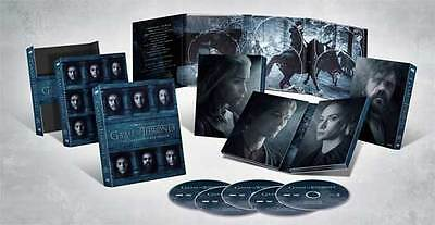 Game of Thrones:The Complete Sixth Season 6(DVD,2016,5-DVD Set)New Digipak