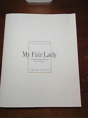 My Fair Lady Costume Designs by Cecil Beaton Portfolio - limited and rare