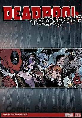 Deadpool Too Soon #2 (Of 4) (2016) 1St Printing Bagged & Boarded