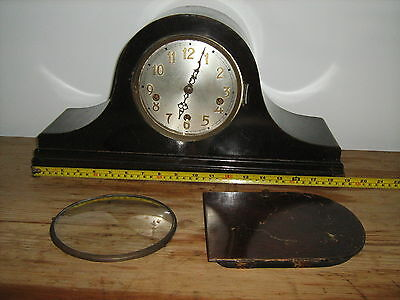 Vintage mantel clock, chiming clock restoration project/parts
