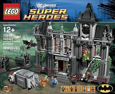 LEGO Super Heroes Arkham Asylum Breakout 10937 BRAND NEW SEALED SET