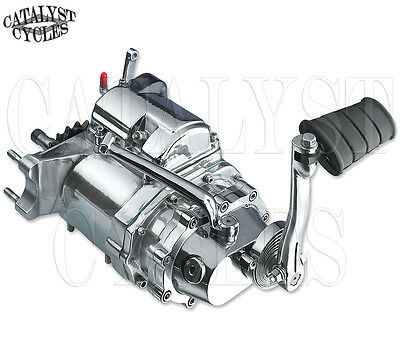RevTech 5-Speed In a 4-Speed Case With Kicker Transmission for Harley Shovelhead