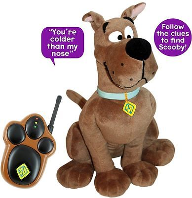 Scooby Doo Hide And Seek Interactive Plush Toy Boys Girls Brand New