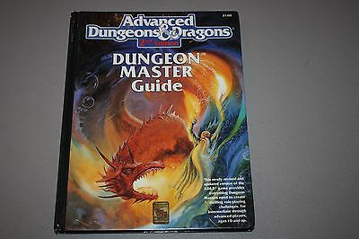 Advanced Dungeons & Dragons AD&D Dungeon Master Guide 2nd Edition TSR 2100