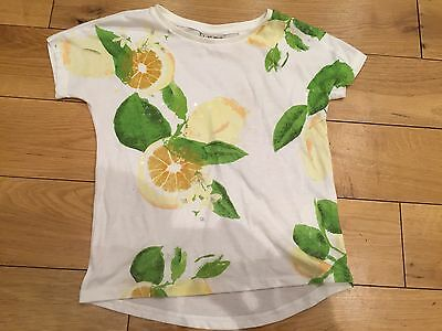 Next Girls T-Shirt With Lemons On Size - 5 years