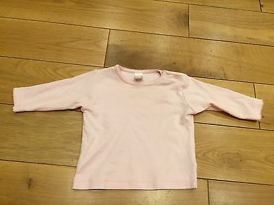 Next Baby Pink Top Size 0 - 3 Months
