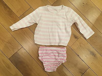 Marks And Spencer Pink And White Outfit 9 - 12months
