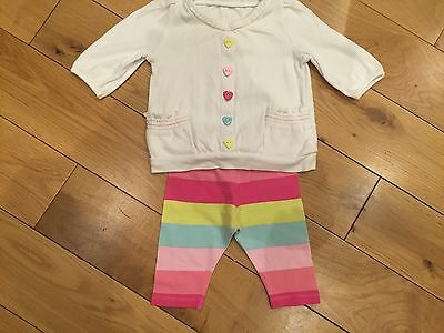 Cute Baby Outfit From George Size 0 -3 months Multicoloured