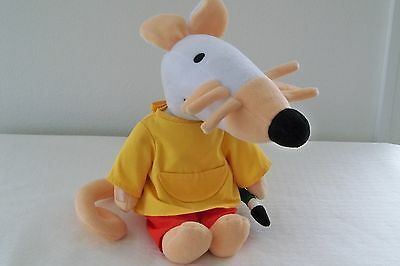 Commonwealth 1999 MAISY LUCY COUSINS MOUSE Stuffed Plush DOLL TALKS  GIGGLES