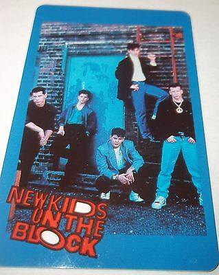 The New Kids On The Block Collectible Cards Very Rare Original1990 2 2/16X 3 1/2
