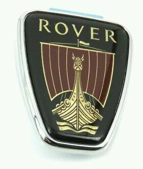 Rover 100 200 400 600 800 25 45 small side quarter badge 28x36 sticky back