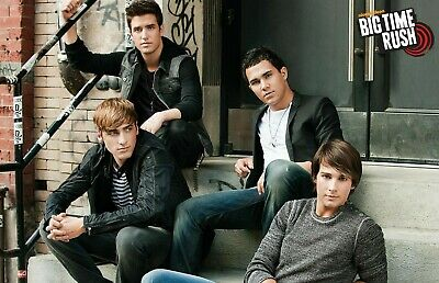 01 2 Sizes Available BIG TIME RUSH POSTER Nickelodeon Teen Kids