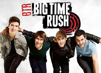 BIG TIME RUSH POSTER Nickelodeon Teen Kids 2 Sizes Available 08