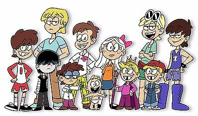 THE LOUD HOUSE POSTER Nickelodeon Teen Kids 2 Sizes Available 01
