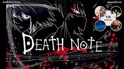 DEATH NOTE POSTER ANIME MANGA CARTOON POSTER 2 Sizes Available 04