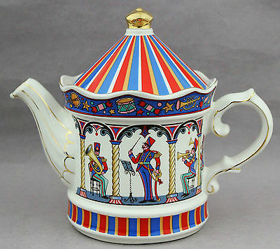 Sadler Teapot Edwardian Entertainments Bandstand Made in England High Tea Pot