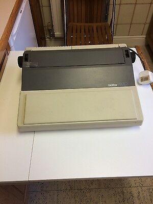 Brother portable electronic typewriter AX-10