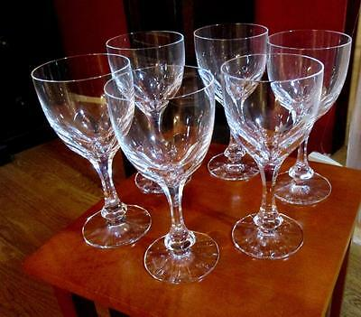 """Pristine Baccarat MONACO Tall (European) Water Goblet 7 1/2"""" *6 Available*Disc."""